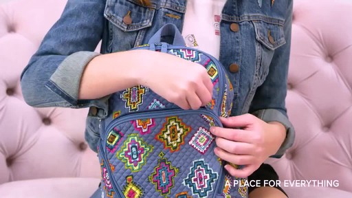 Vera Bradley Hadley Backpack - image 3 from the video