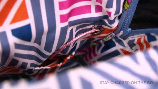 Vera Bradley Hadley Backpack - image 5 from the video