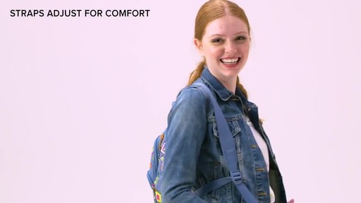 Vera Bradley Hadley Backpack - image 6 from the video