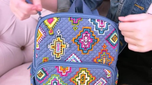 Vera Bradley Hadley Backpack - image 9 from the video