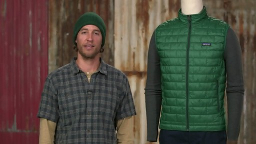 Patagonia Mens Nano Puff Vest - on eBags.com - image 1 from the video