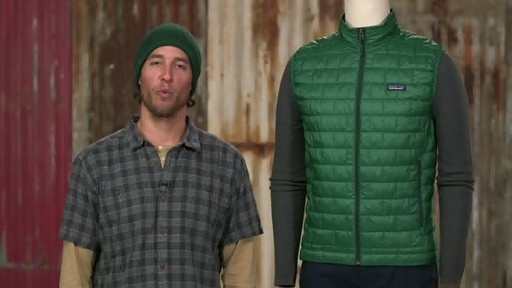 Patagonia Mens Nano Puff Vest - on eBags.com - image 10 from the video