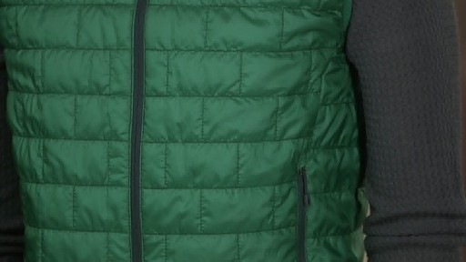 Patagonia Mens Nano Puff Vest - on eBags.com - image 4 from the video