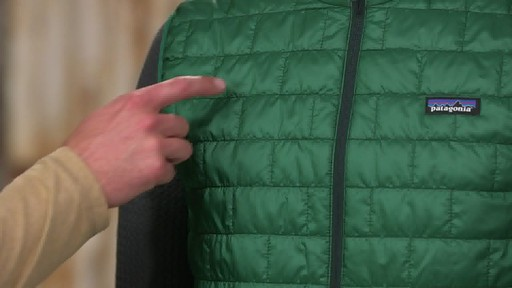 Patagonia Mens Nano Puff Vest - on eBags.com - image 6 from the video