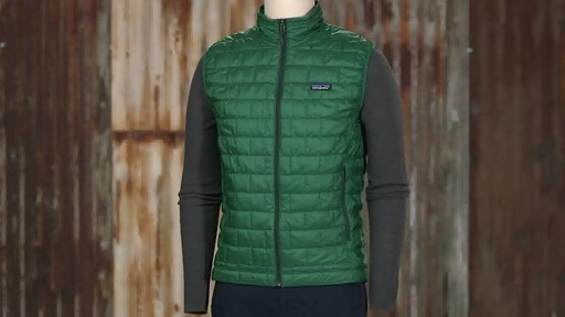 Patagonia Mens Nano Puff Vest - on eBags.com - image 7 from the video