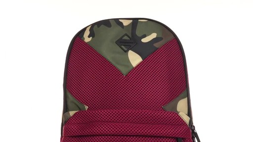 Sprayground X Camo Mesh Cut And Sew Backpack - Shop eBags.com - image 10 from the video