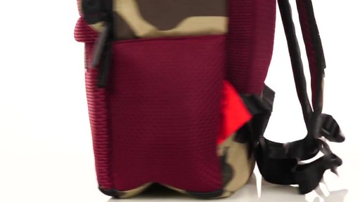 Sprayground X Camo Mesh Cut And Sew Backpack - Shop eBags.com - image 3 from the video