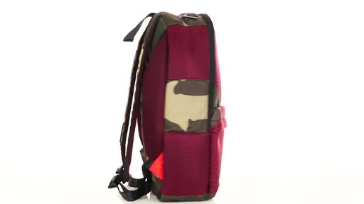 Sprayground X Camo Mesh Cut And Sew Backpack - Shop eBags.com - image 4 from the video