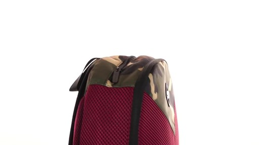 Sprayground X Camo Mesh Cut And Sew Backpack - Shop eBags.com - image 6 from the video