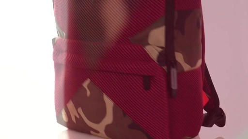 Sprayground X Camo Mesh Cut And Sew Backpack - Shop eBags.com - image 7 from the video