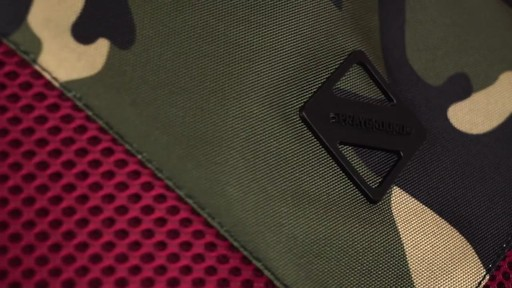 Sprayground X Camo Mesh Cut And Sew Backpack - Shop eBags.com - image 8 from the video