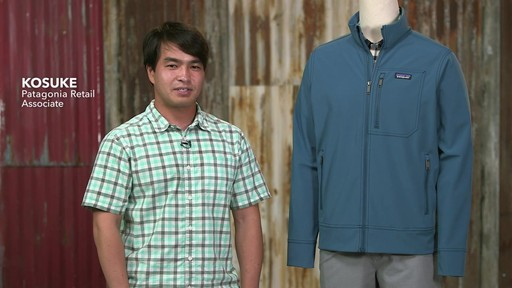 Patagonia Mens Sidesend Jacket - image 1 from the video