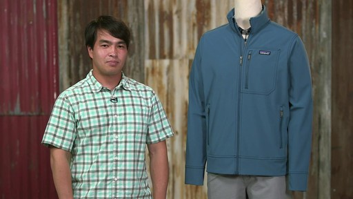 Patagonia Mens Sidesend Jacket - image 10 from the video