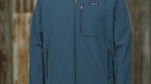 Patagonia Mens Sidesend Jacket - image 4 from the video