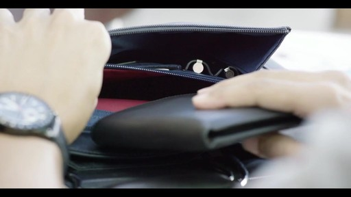 Tumi Larkin Ashbury Duffel - image 8 from the video