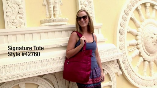 Travelon Anti-Theft Signature Tote - eBags.com - image 1 from the video