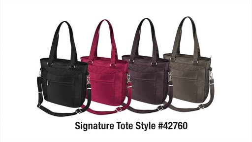 Travelon Anti-Theft Signature Tote - eBags.com - image 10 from the video