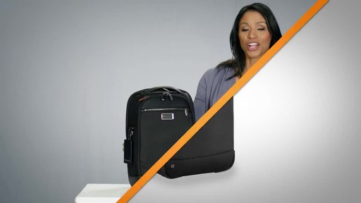Briggs & Riley @work Medium Slim Laptop Backpack - image 1 from the video
