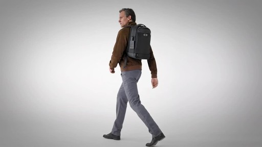 Briggs & Riley @work Medium Slim Laptop Backpack - image 10 from the video