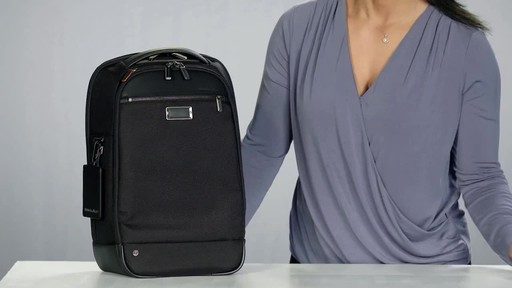 Briggs & Riley @work Medium Slim Laptop Backpack - image 2 from the video