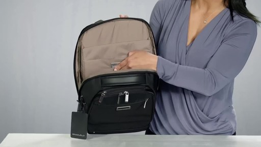 Briggs & Riley @work Medium Slim Laptop Backpack - image 7 from the video