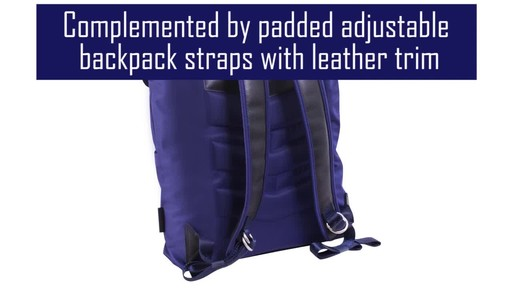 McKlein USA Element Laptop Backpack - image 5 from the video