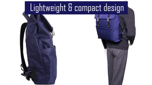 McKlein USA Element Laptop Backpack - image 6 from the video