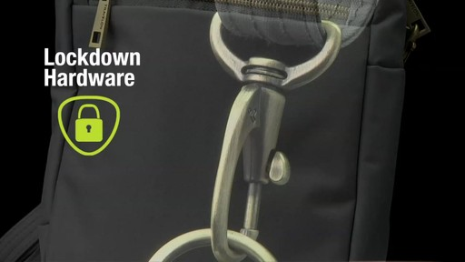 Travelon Anti-theft Signature Slim Day Bag - Shop eBags.com - image 6 from the video