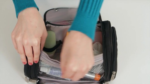 Travelon Hanging Toiletry Kit - image 3 from the video