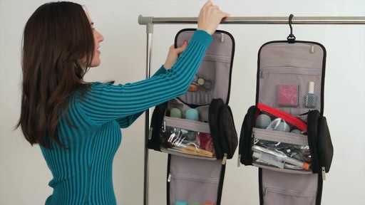 Travelon Hanging Toiletry Kit - image 4 from the video