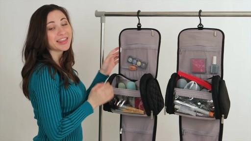 Travelon Hanging Toiletry Kit - image 5 from the video