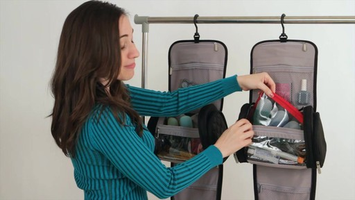 Travelon Hanging Toiletry Kit - image 6 from the video