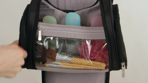Travelon Hanging Toiletry Kit - image 7 from the video