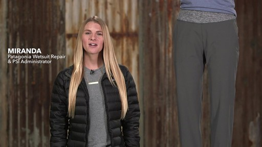 Patagonia Womens Happy Hike Studio Pants - image 1 from the video