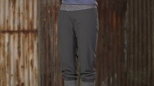 Patagonia Womens Happy Hike Studio Pants - image 3 from the video