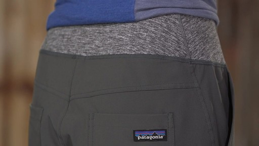 Patagonia Womens Happy Hike Studio Pants - image 4 from the video