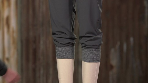 Patagonia Womens Happy Hike Studio Pants - image 9 from the video