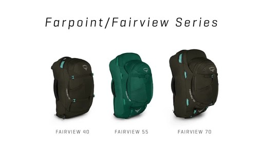 Osprey Farpoint Travel Laptop Backpack Series - image 3 from the video