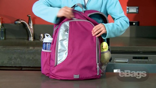 Value, Safety, Perfect Size. eBags Bookworm Kids' Pack - image 2 from the video
