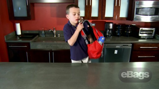 Value, Safety, Perfect Size. eBags Bookworm Kids' Pack - image 4 from the video