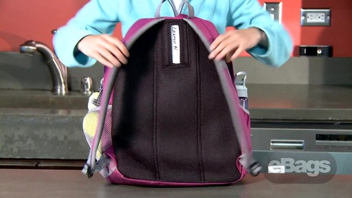 Value, Safety, Perfect Size. eBags Bookworm Kids' Pack - image 6 from the video