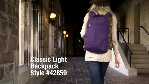Travelon Anti-Theft Classic Backpack - Shop eBags.com - image 1 from the video