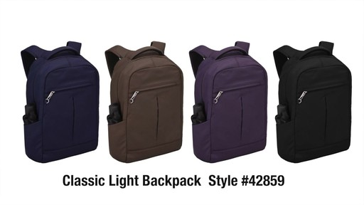 Travelon Anti-Theft Classic Backpack - Shop eBags.com - image 10 from the video