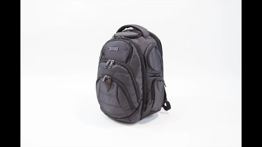 Kenneth Cole Reaction Pack of All Trades Laptop Backpack - image 1 from the video