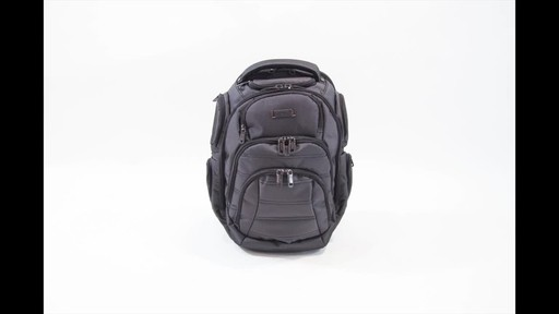 Kenneth Cole Reaction Pack of All Trades Laptop Backpack - image 10 from the video