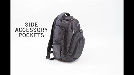 Kenneth Cole Reaction Pack of All Trades Laptop Backpack - image 2 from the video