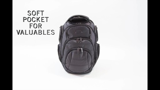 Kenneth Cole Reaction Pack of All Trades Laptop Backpack - image 3 from the video