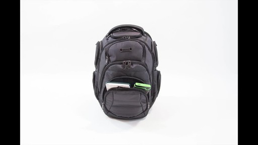 Kenneth Cole Reaction Pack of All Trades Laptop Backpack - image 4 from the video