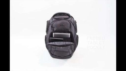 Kenneth Cole Reaction Pack of All Trades Laptop Backpack - image 5 from the video