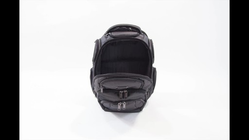 Kenneth Cole Reaction Pack of All Trades Laptop Backpack - image 6 from the video